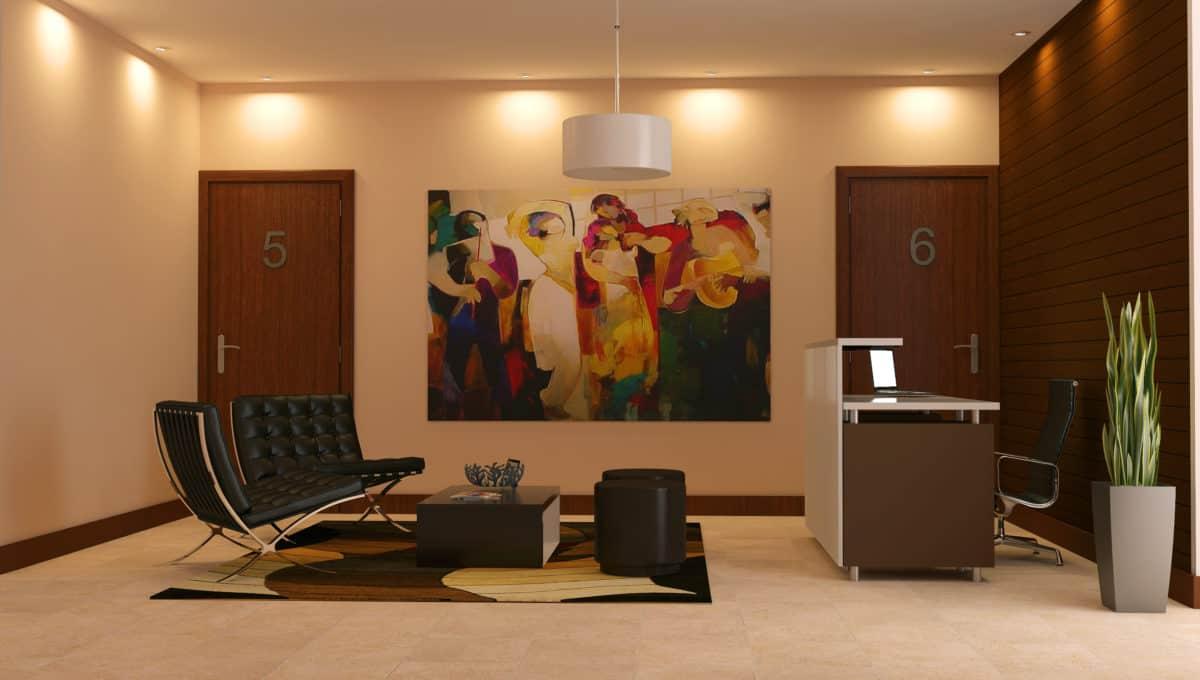 Lobby-oficinas