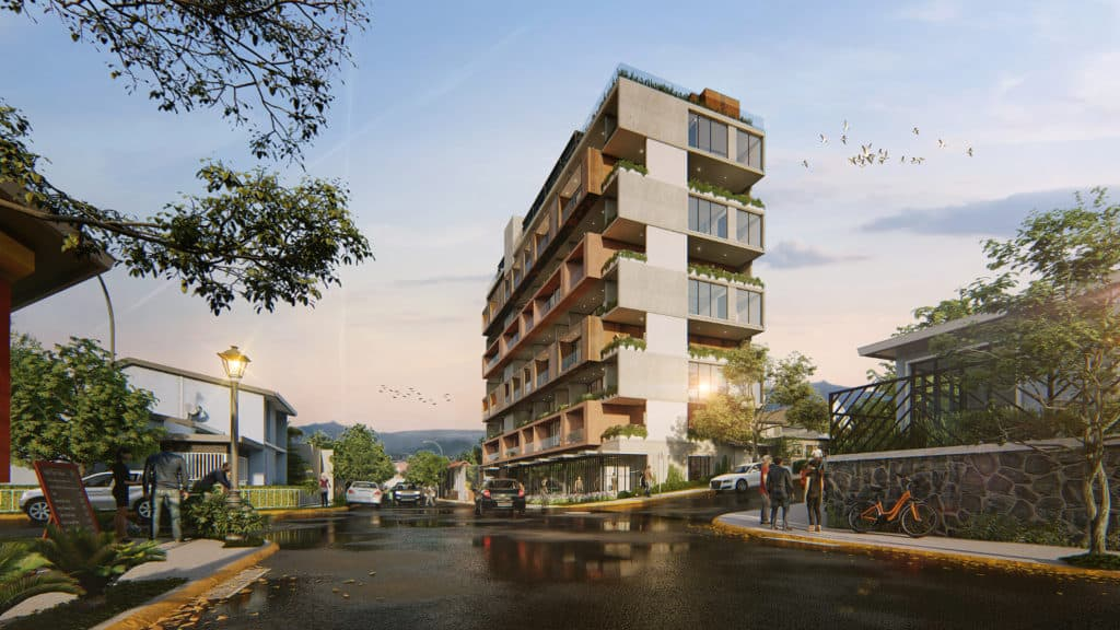 New and Modern apartments in Barrio Escalante